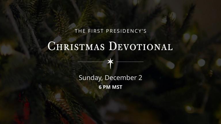 Lds.Org Christmas Devotional 2019 2018 First Presidency's Christmas Devotional   Church News and Events