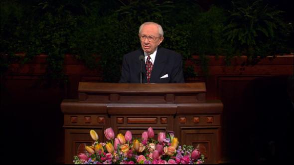 lds church talks