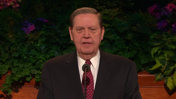 Oleh Elder Jeffrey R. Holland