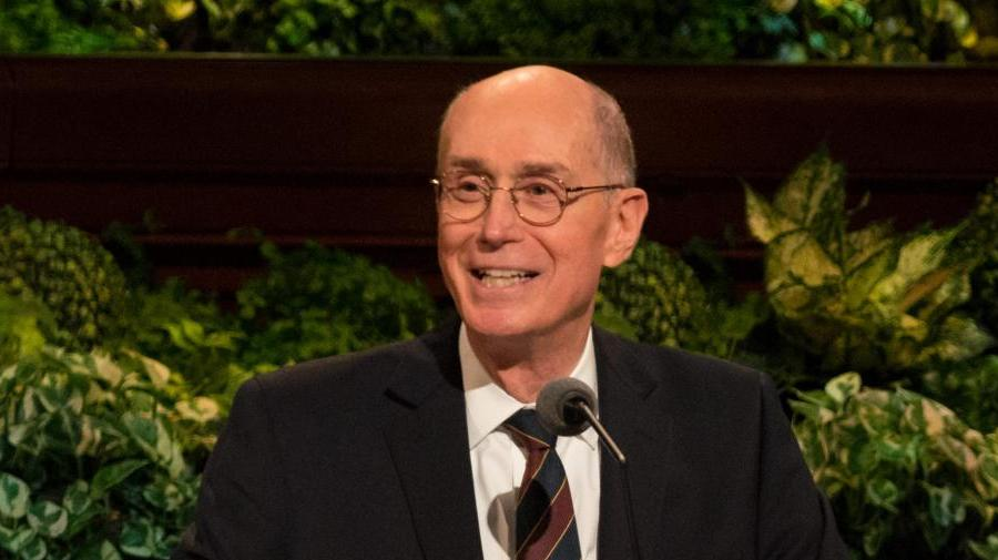 "Walk with Me"" - By President Henry B  Eyring"