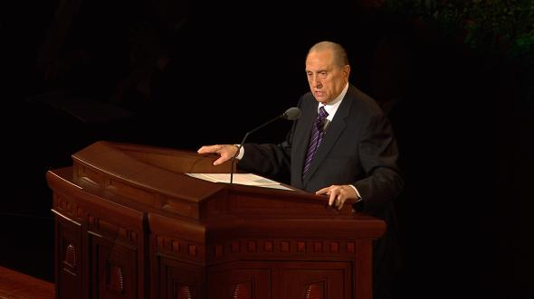 U201cI Will Not Fail Thee, Nor Forsake Theeu201d   By President Thomas S. Monson