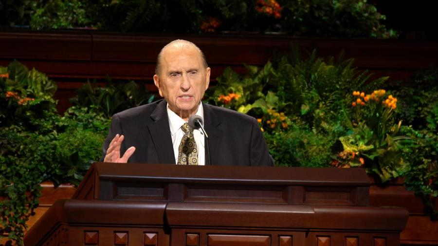 Principles And Promises   By President Thomas S. Monson