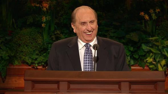 Presidentti Thomas S. Monson