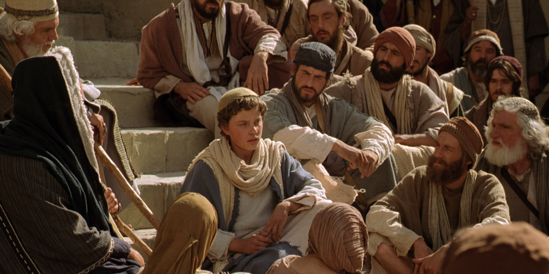 Young Jesus Teaches in the Temple