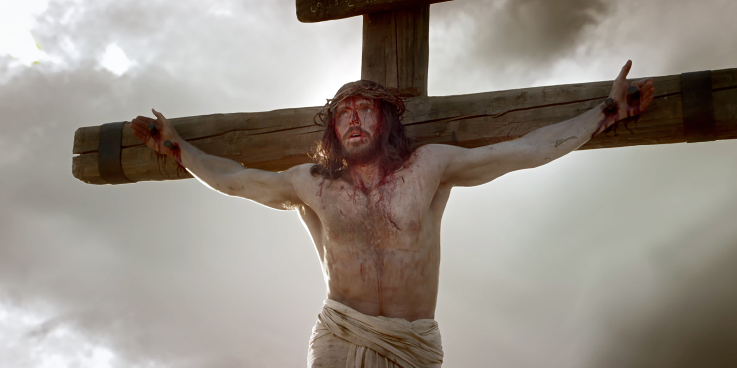 jesus is scourged and crucified