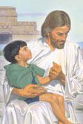 Miniatyr av omslaget till animerade berättelser ur Mormons bok Jesus besöker den amerikanska kontinenten