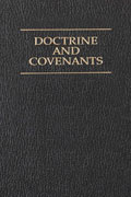 Doctrine and Covenants book cover.