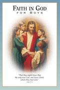 Omslaget till Tro på Gud för pojkar