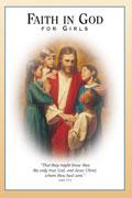Omslaget till Tro på Gud för flickor