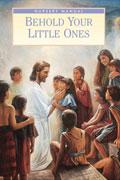 Miniatyr av omslaget till Sen edra små: Lektionsbok för barntillsynen Jesus tillsammans med barn