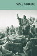 Jesus teaching sermon on the mount manual cover thumbnail New Testament