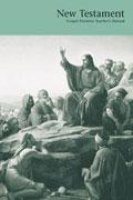 Jesu bergspredikan, miniatyr av omslaget till lektionsboken för Nya testamentet