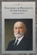 Omslaget till Kyrkans presidenters lärdomar: Heber J Grant