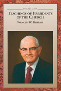 Teachings of the Presidents of the Church Spencer W Kimball manual cover thumbnail