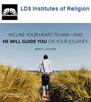 Incline your heart to him-and He will guide you on your journey, -Dieter F. Uchtdorf