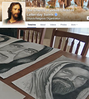 Growing up, Elder Lee felt alone, struggled with addiction, and fought suicidal thoughts. He wanted to be able to to put his thoughts and feelings somewhere, so he began drawing portraits of Jesus Christ.