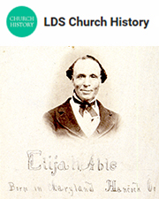 Elijah Abel was one of the first African American members to join the Church in Kirtland, Ohio.
