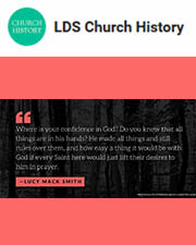 Learn a little more about Lucy Mack Smith and what she said to the Saints while they were traveling to Kirtland here.