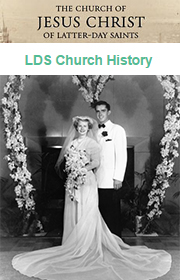 Happy Valentine's Day! Here we have M. Russell Ballard and his wife, Barbara Bowen Ballard on their wedding day!